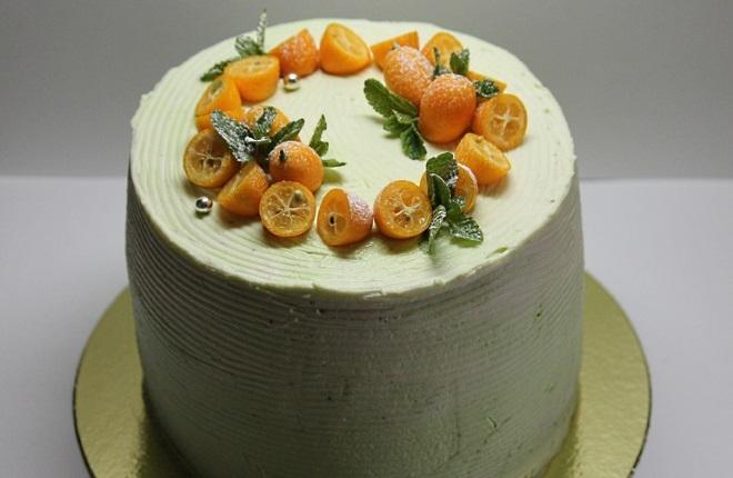 Како украсити велике тангерине торте