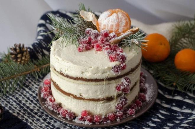 Како украсити новогодишње торте тангерине