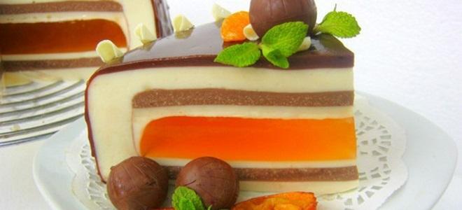 рецепт за торту мандарине