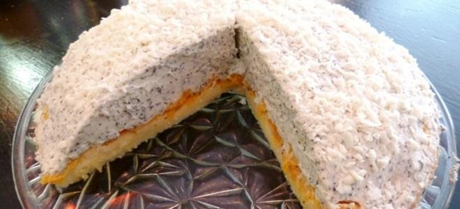 торта са маскарпоном и мандарином
