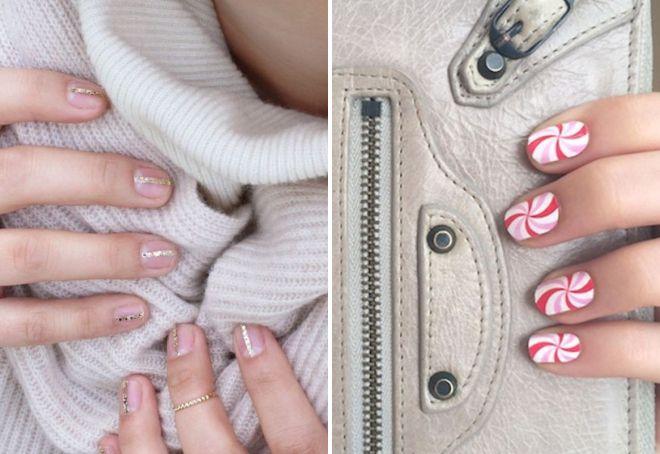 модный маникюр осень 2017 на короткие ногти