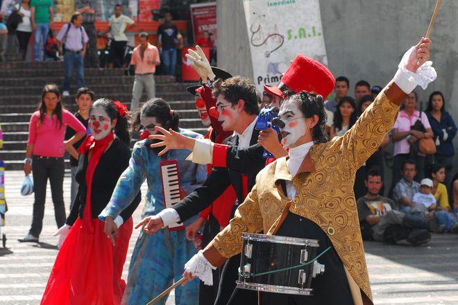 Международный фестиваль театра в Манисалесе