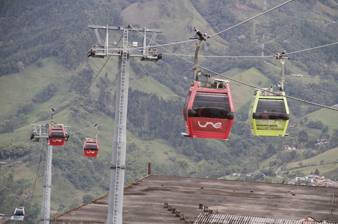 Канатная дорога (Cable Aereo) в Манисалесе