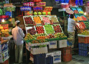Рынок на улице Rue AbuHanifa, город Фес