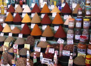 Рынок специй в Рабате