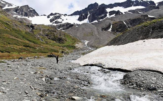 Прогулка до ледника