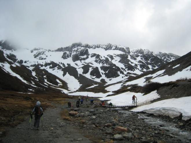 Дорога на ледник