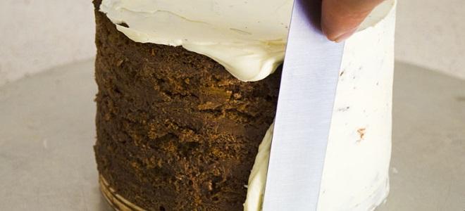 krem mascarpone do wyrównywania ciasta
