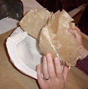 Maska papier mache 7