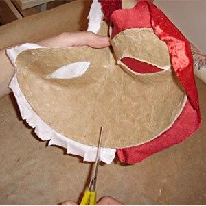 Maska papier mache 8