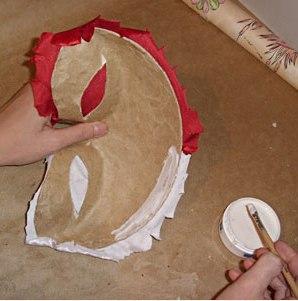 maska z papier mache 9