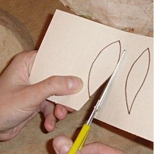 Maska papier mache 10