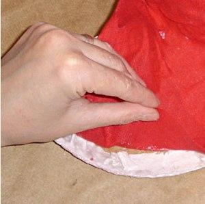 Maska papier mache 13