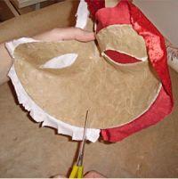 Maska papier mache 17