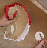 Maska papier mache 17 2
