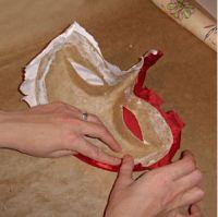 Maska papier mache 17 3