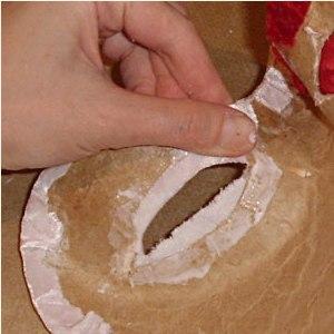 Maska papier mache 19