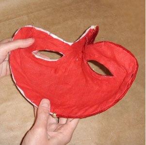 Maska papier mache 25