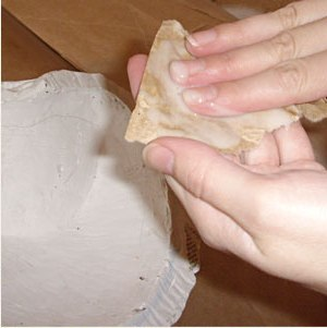 Maska papier mache 3