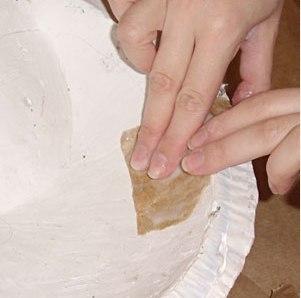 Maska Papier mache 3 1