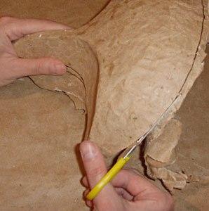 Maska papier mache 5 2