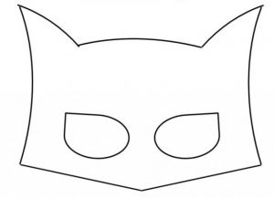 jak zrobić maskę batmana z kartonu 1