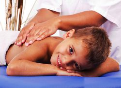 масажа кад кашље дете