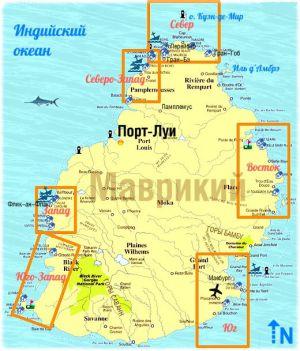 Дайв-сайты Маврикия