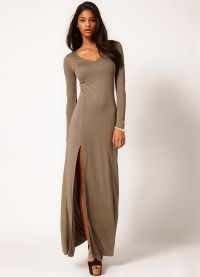 Šaty s dlouhým rukávem Maxi 2