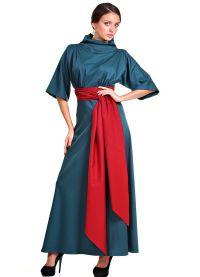 Šaty s dlouhým rukávem Maxi 3