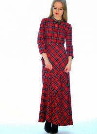 Maxi šaty s dlouhými rukávy 6