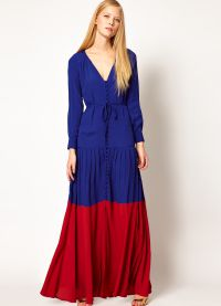 Maxi šaty s dlouhými rukávy 7