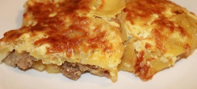 Francuskie mięso z ziemniakami w piekarniku
