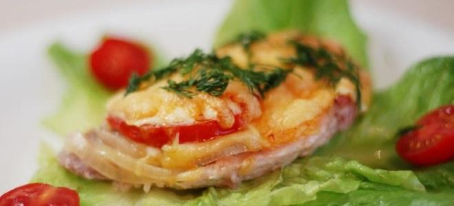 Francuskie mięso z pomidorami