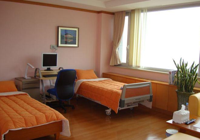Палата в корейской клинике