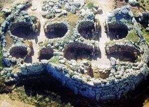 Храм Джгантия - вид сверху