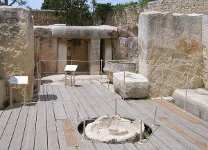 Храм Таршьен внутри