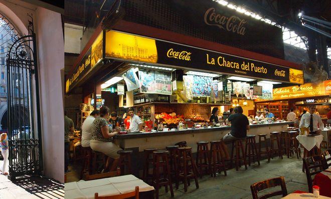 Закусочная на рынке Меркадо-дель-Пуэрто