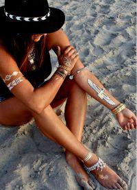 Метална флаш татуировка8