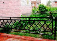 metalowe ogrodzenie trawnika 3