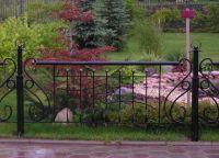 metalowe ogrodzenie trawnika 4