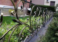 metalowe ogrodzenie trawnika 5