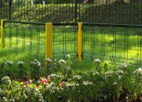 metalowe ogrodzenie trawnika 6