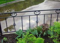metalowe ogrodzenie trawnika 7