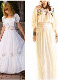 мексикански стил рокля 4