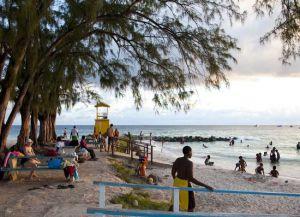 Излюбленное место отдыха жителей острова