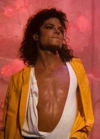 молодой Майкл Джексон после пластики