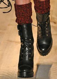 boty vojenského stylu 3