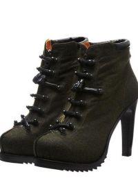 boty vojenského stylu 5