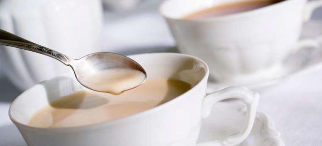 mlečni čaj z dojenjem